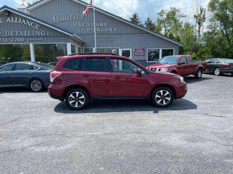 2017 Subaru Forester for sale at Empire Alliance Inc. in West Coxsackie NY