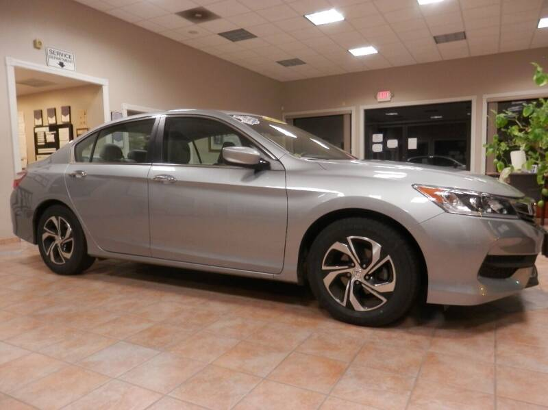 2017 Honda Accord for sale at ABSOLUTE AUTO CENTER in Berlin CT