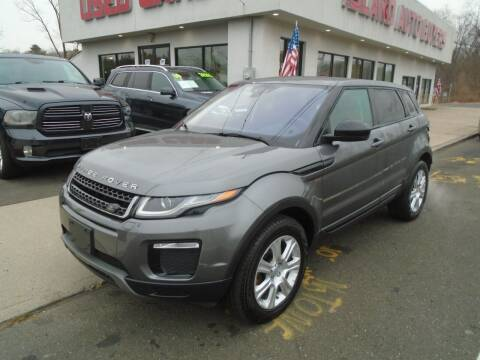 2016 Land Rover Range Rover Evoque for sale at Island Auto Buyers in West Babylon NY