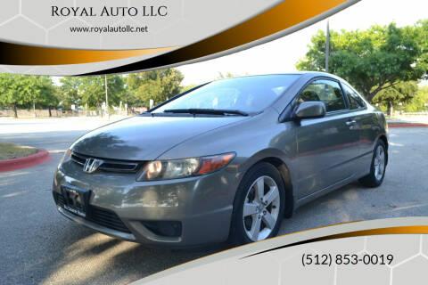 2007 Honda Civic for sale at Royal Auto LLC in Austin TX