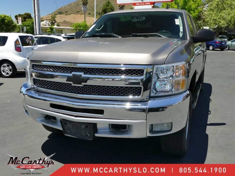 2013 Chevrolet Silverado 1500 for sale at McCarthy Wholesale in San Luis Obispo CA