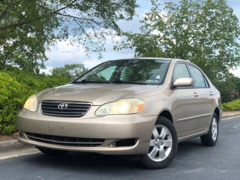 2005 Toyota Corolla for sale at William D Auto Sales in Norcross GA