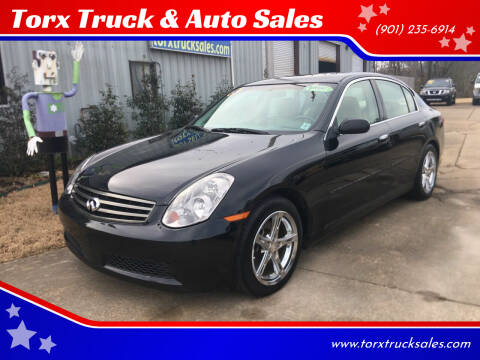 2005 Infiniti G35 for sale at Torx Truck & Auto Sales in Eads TN