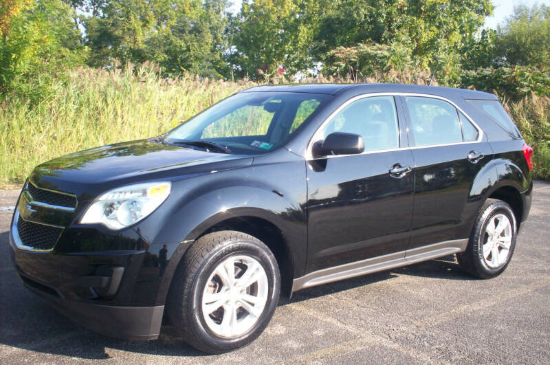 2012 Chevrolet Equinox for sale at Action Auto Wholesale - 30521 Euclid Ave. in Willowick OH