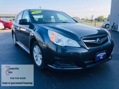 2010 Subaru Legacy for sale at Transportation Center Of Western New York in Niagara Falls NY