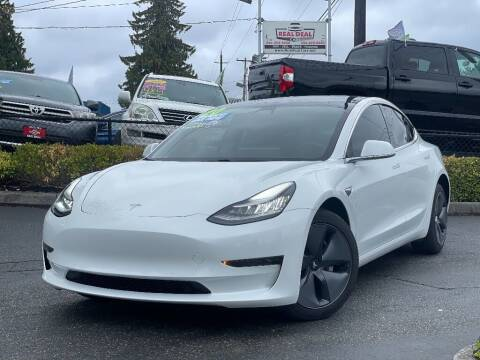 2020 Tesla Model 3 for sale at Real Deal Cars in Everett WA