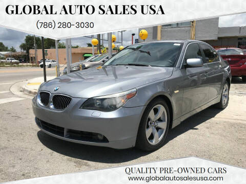 2004 BMW 5 Series for sale at Global Auto Sales USA in Miami FL