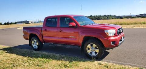 2012 Toyota Tacoma for sale at McMinnville Auto Sales LLC in Mcminnville OR
