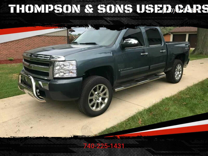2007 Chevrolet Silverado 1500 for sale at THOMPSON & SONS USED CARS in Marion OH