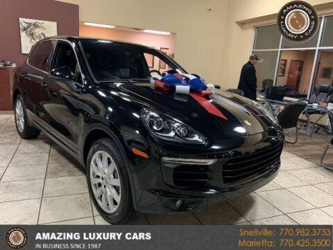 2015 Porsche Cayenne for sale at Amazing Luxury Cars in Snellville GA