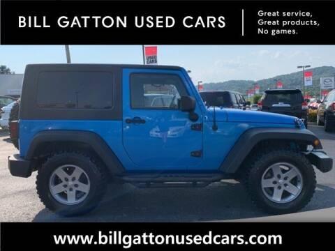 2010 Jeep Wrangler for sale at Bill Gatton Used Cars - BILL GATTON ACURA MAZDA in Johnson City TN