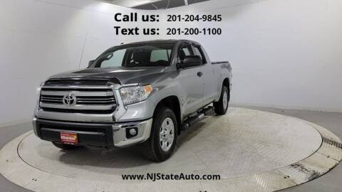 2016 Toyota Tundra for sale at NJ State Auto Used Cars in Jersey City NJ