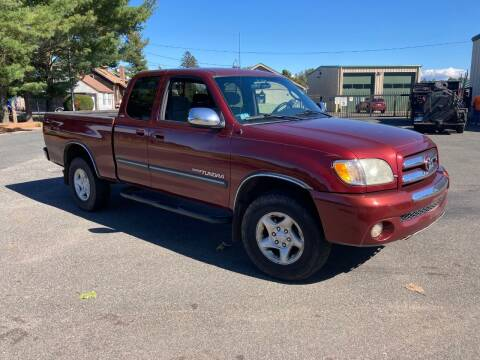 2004 Toyota Tundra for sale at ENFIELD STREET AUTO SALES in Enfield CT