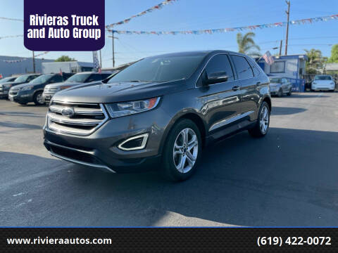 2015 Ford Edge for sale at Rivieras Truck and Auto Group in Chula Vista CA