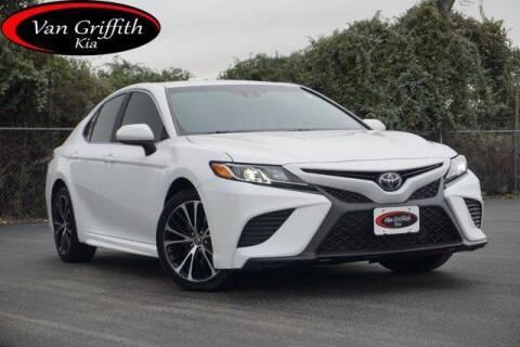 2018 Toyota Camry for sale at Van Griffith Kia Granbury in Granbury TX
