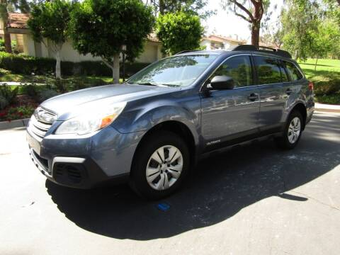 2013 Subaru Outback for sale at E MOTORCARS in Fullerton CA
