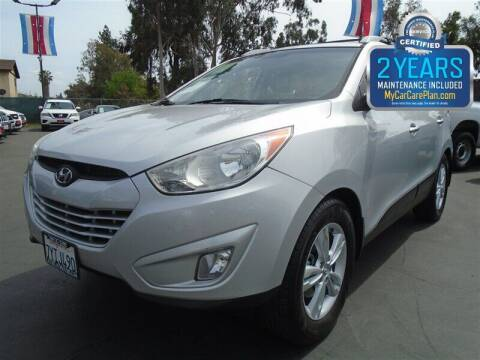 2013 Hyundai Tucson for sale at Centre City Motors in Escondido CA