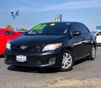 2011 Toyota Corolla for sale at LUGO AUTO GROUP in Sacramento CA