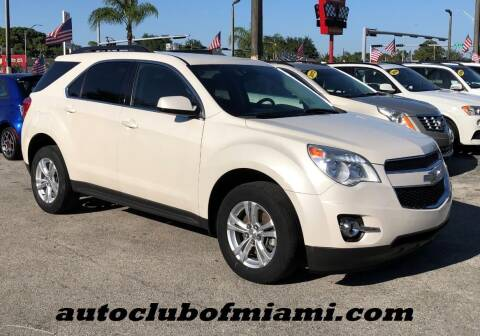2015 Chevrolet Equinox for sale at AUTO CLUB OF MIAMI in Miami FL