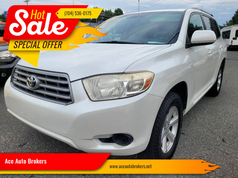 2009 Toyota Highlander for sale at Ace Auto Brokers in Charlotte NC