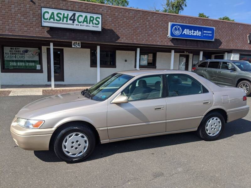 1998 Toyota Camry for sale at Cash 4 Cars in Penndel PA