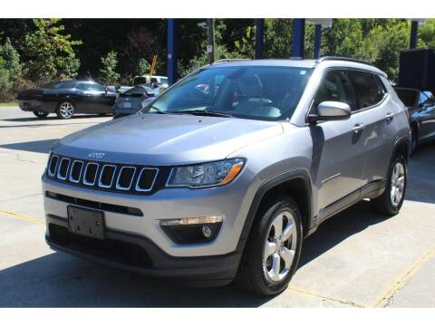 2018 Jeep Compass for sale at Inline Auto Sales in Fuquay Varina NC