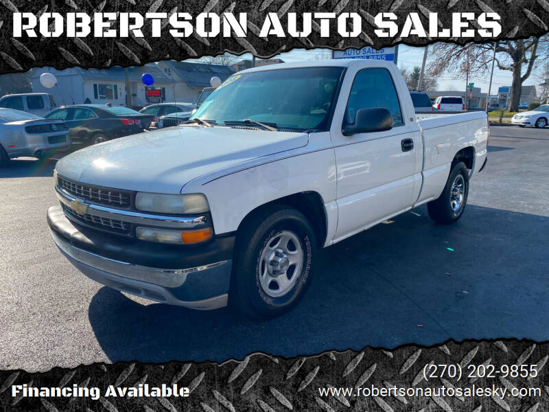 2002 Chevrolet Silverado 1500 for sale at ROBERTSON AUTO SALES in Bowling Green KY