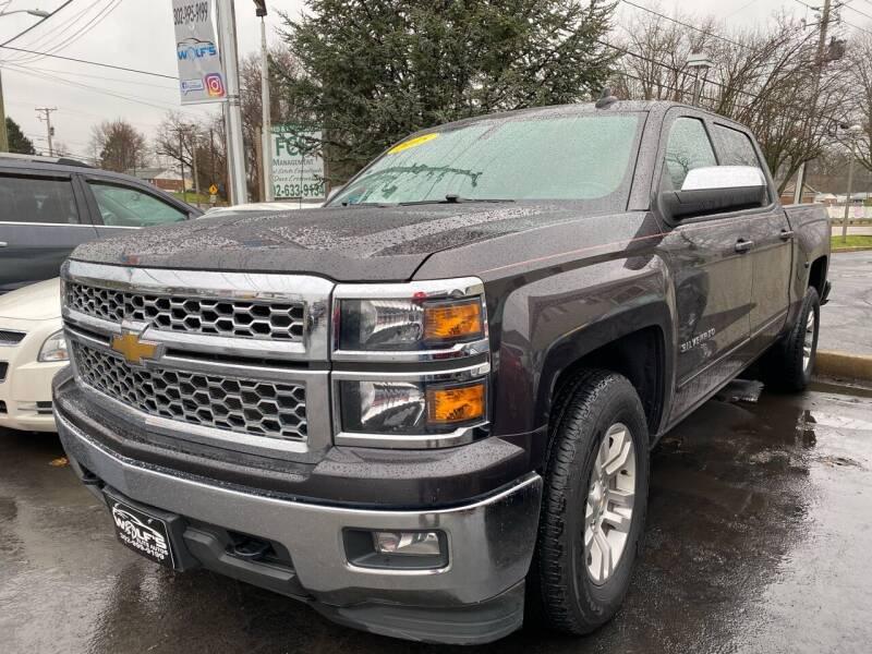 2015 Chevrolet Silverado 1500 for sale at WOLF'S ELITE AUTOS in Wilmington DE