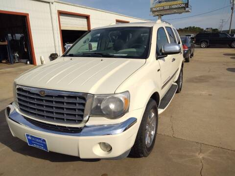 2008 Chrysler Aspen for sale at 4 B CAR CORNER in Anadarko OK
