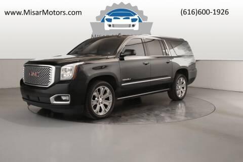 2017 GMC Yukon XL for sale at Misar Motors in Ada MI