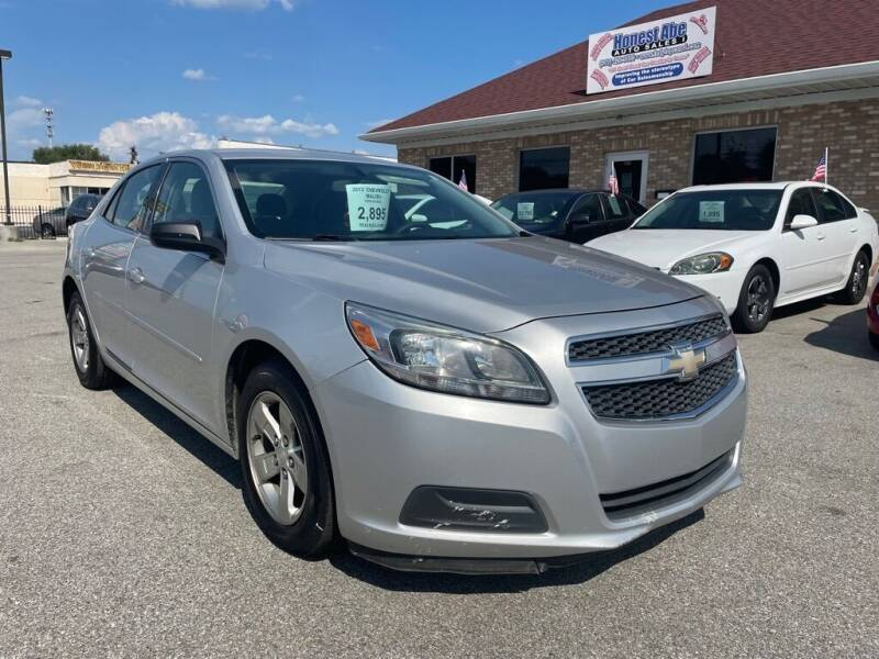 2013 Chevrolet Malibu for sale at Honest Abe Auto Sales 1 in Indianapolis IN