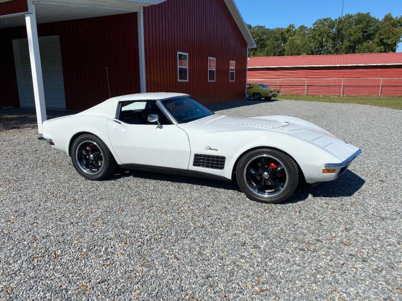 1972 Chevrolet Corvette for sale at F & A Corvette in Colonial Beach VA