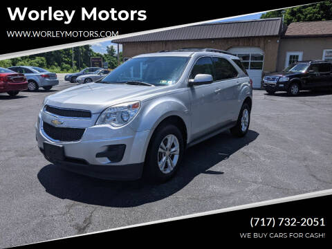 2012 Chevrolet Equinox for sale at Worley Motors in Enola PA