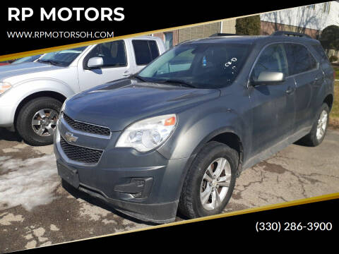 2013 Chevrolet Equinox for sale at RP MOTORS in Canfield OH