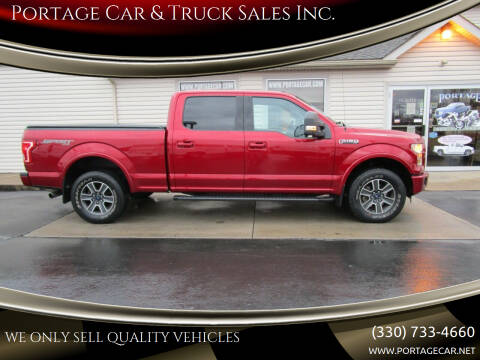 2016 Ford F-150 for sale at Portage Car & Truck Sales Inc. in Akron OH