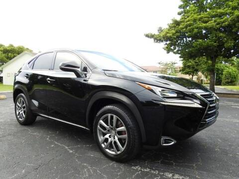 2015 Lexus NX 200t for sale at SUPER DEAL MOTORS 441 in Hollywood FL
