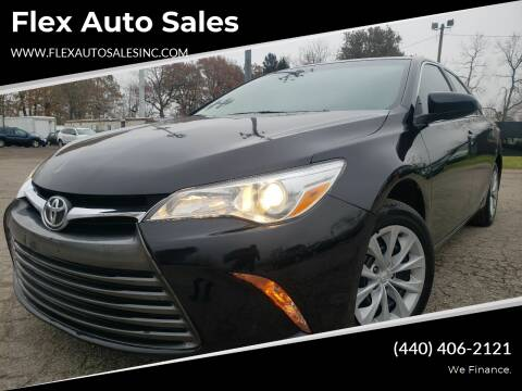 2016 Toyota Camry for sale at Flex Auto Sales in Cleveland OH