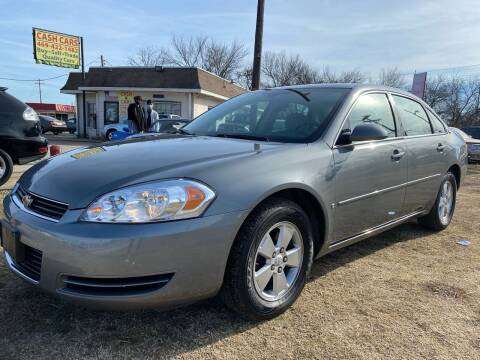2008 Chevrolet Impala for sale at Texas Select Autos LLC in Mckinney TX