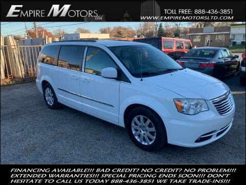2013 Chrysler Town and Country for sale at Empire Motors LTD in Cleveland OH