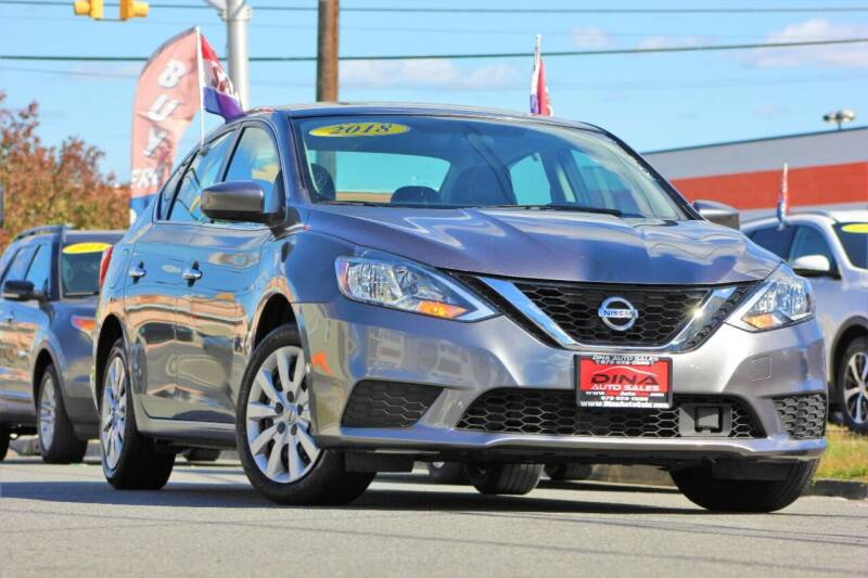 2018 Nissan Sentra for sale at Dina Auto Sales in Paterson NJ