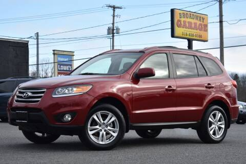 2012 Hyundai Santa Fe for sale at Broadway Garage of Columbia County Inc. in Hudson NY