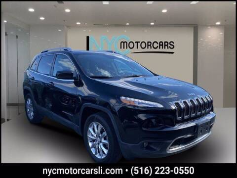 2017 Jeep Cherokee for sale at NYC Motorcars in Freeport NY