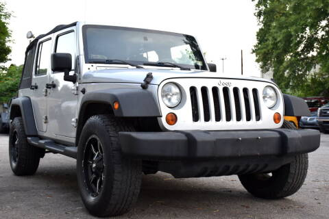 2008 Jeep Wrangler Unlimited for sale at Wheel Deal Auto Sales LLC in Norfolk VA