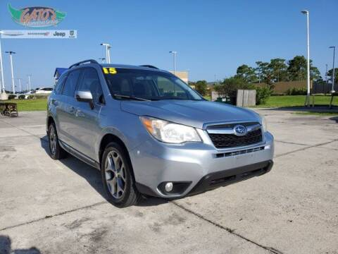 2015 Subaru Forester for sale at GATOR'S IMPORT SUPERSTORE in Melbourne FL