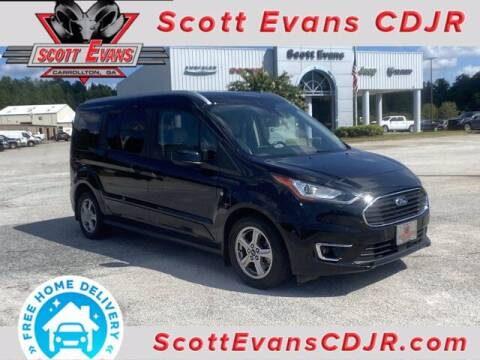 2019 Ford Transit Connect Wagon for sale at SCOTT EVANS CHRYSLER DODGE in Carrollton GA
