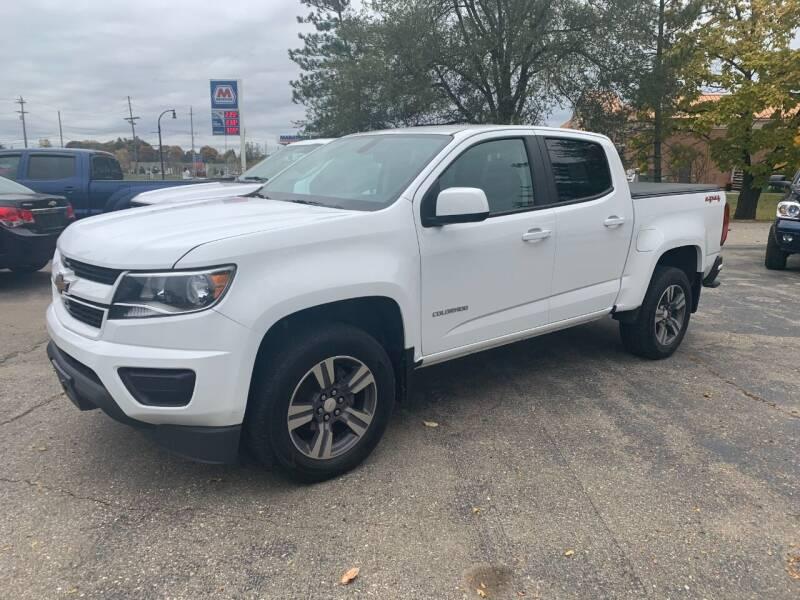 2018 Chevrolet Colorado for sale at Leonard Enterprise Used Cars in Orion MI