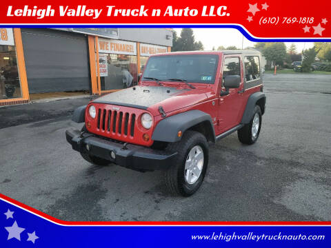 2008 Jeep Wrangler for sale at Lehigh Valley Truck n Auto LLC. in Schnecksville PA