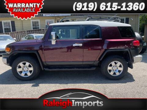 2007 Toyota FJ Cruiser for sale at Raleigh Imports in Raleigh NC