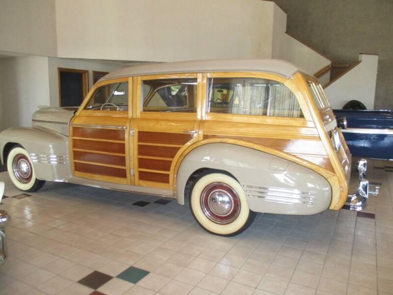 1941 Pontiac Custom Torpedo Station Wagon for sale at Elite Motors in Fargo ND