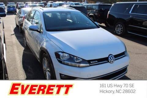 2018 Volkswagen Golf Alltrack for sale at Everett Chevrolet Buick GMC in Hickory NC